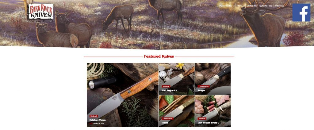 Bark River Knives Grind In